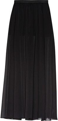 Enza Costa Chiffon maxi skirt