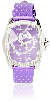 Hello Kitty Purple Stainless Steel Watch $147.22 thestylecure.com