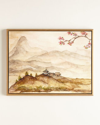 """Horchow """"Spring Mountain"""" Print"""