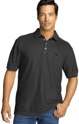 Tommy Bahama Relax The Emfielder Pique Polo (Big & Tall) $110 thestylecure.com