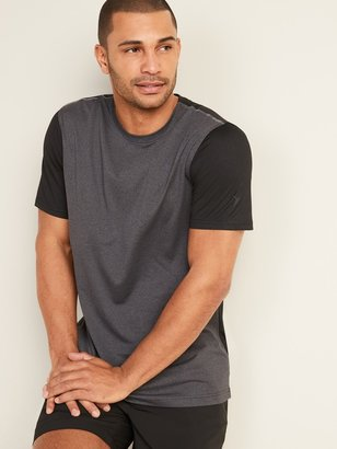 Old Navy Go-Dry Cool Odor-Control Color-Blocked Core Tee for Men