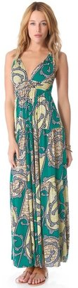 T-Bags Tbags los angeles Open Back Maxi Dress