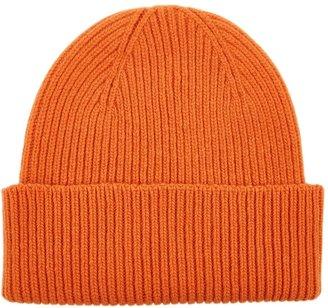 COLORFUL STANDARD Orange Merino Wool Beanie