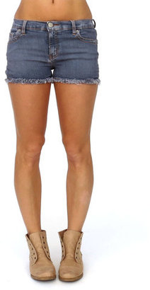 M2F Denim Mini Short Slate