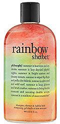 philosophy Rainbow Sherbert™ Shampoo, Shower Gel & Bubble Bath