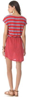Splendid Marseille Chambray Stripe Dress