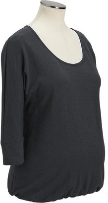 Old Navy Maternity 3/4-Sleeved Slub-Knit Jersey Tops