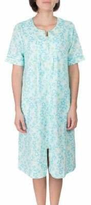 Jasmine Rose Full-Zip Jacquard Blister Robe