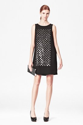 French Connection Check Mate Sequin Dress
