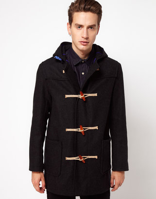 Gloverall Made In London Melton Wool Duffle Coat