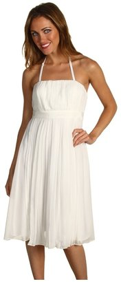 Vince Camuto Pleated Dress w/ Removable Straps VC2U1086 Women's Dress