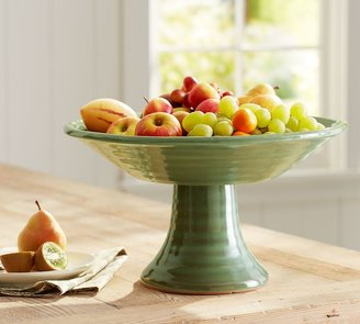 Pottery Barn Sierra Footed Bowl