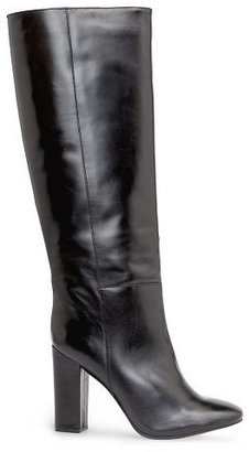 MANGO Knee-high leather boots