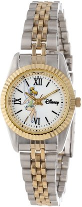EWatchFactory Disney Women's W000580 Tinker Bell Two-Tone Status Watch
