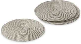 Williams-Sonoma Williams Sonoma Round Woven Coasters, Set of 4
