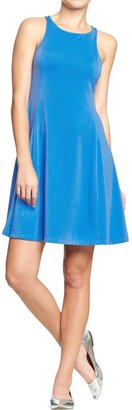 Old Navy Women's Fit & Flare Ponte-Tank Dresses