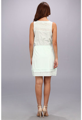 Gabriella Rocha Crystal Laser Cut Dress