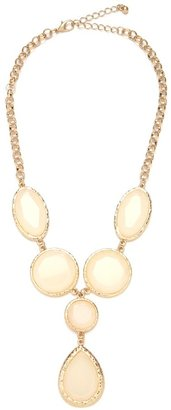 BaubleBar Opal Tear Necklace