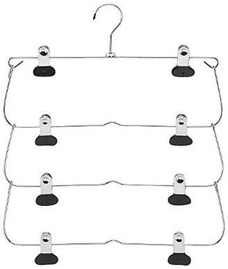 Whitmor 6021-184 Ebony Chrome Deluxe Swing Slack Hanger