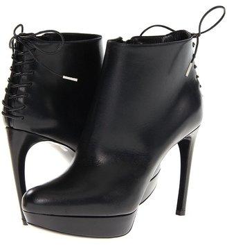 Alexander McQueen Stiv. To Pelle S. Cu Bond Calf/Hender (Black/Black) - Footwear