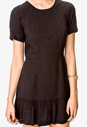 Forever 21 Must-Have Botanical Ruffle Dress