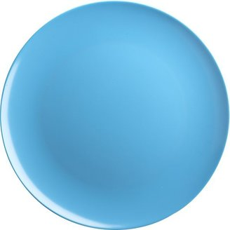 Crate & Barrel Turquoise Dinner Plate