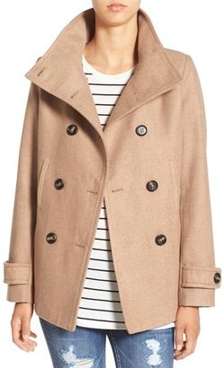 Thread & Supply Double Breasted Peacoat $58 thestylecure.com