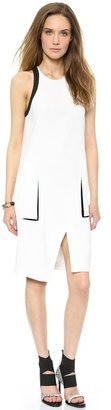 Helmut Lang Wrap Open Back Dress