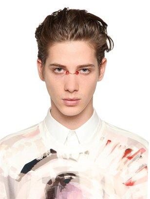 Givenchy Swarovski Crystals Nose Bridge Ring