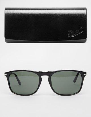 Persol Wayfarer Keyhole Sunglasses