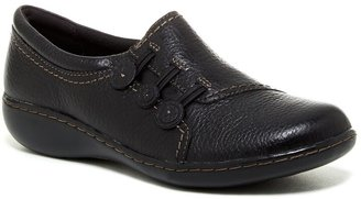 Clarks Ashland Effie Casual Slip-On Flat - Wide Width Available