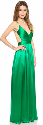 ONE by Contrarian Babs Bibb Maxi Dress $425 thestylecure.com