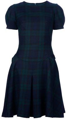 McQ by Alexander McQueen Tartan Dress