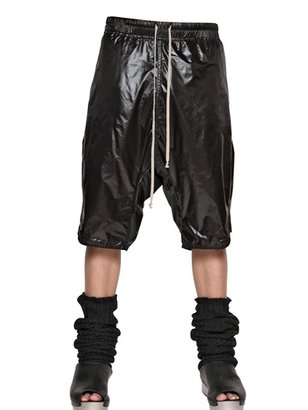 Rick Owens Soft Nylon Basket Shorts