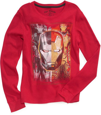 Epic Threads Kids Shirt, Boys Superhero Thermal Tee