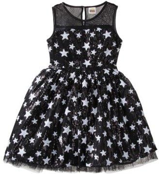 Harajuku Lovers Mini for Target® Girls' Sequin Dress - Coal