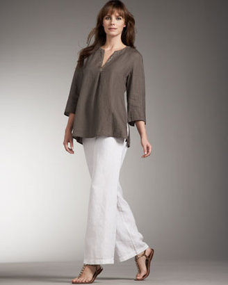 Eileen Fisher Relaxed Linen Pants, Women's