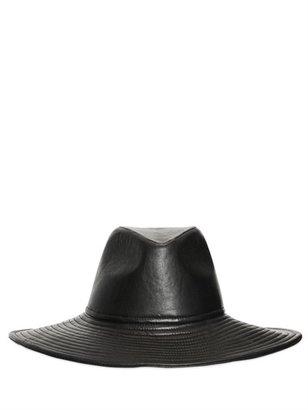 Blumarine Nappa Leather Hat