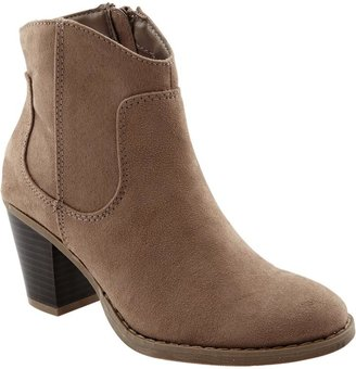 Old Navy Women's Sueded Short-Zip Boots