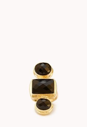 Forever 21 Luxe Faux Stone Ring
