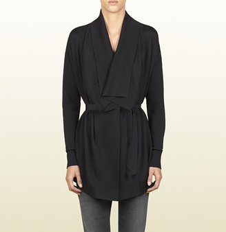 Gucci Oversized Belted Cardigan