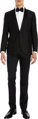 Barneys New York One-Button Tuxedo Jacket