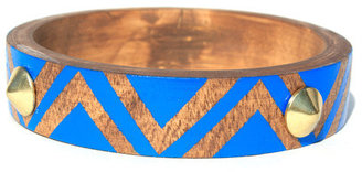 Voz Collective Studded Bangle Royal Blue