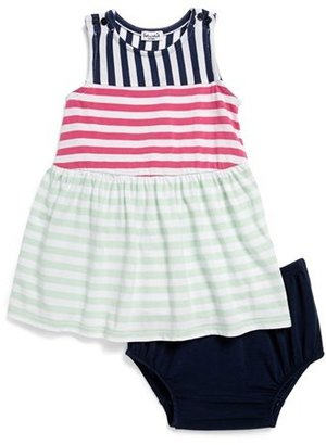 Splendid Stripe Tank Dress & Bloomers (Baby Girls)
