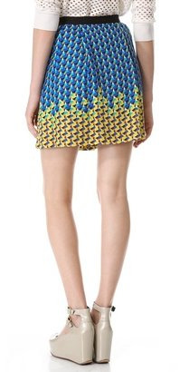 Marc by Marc Jacobs Paradox Print Skirt