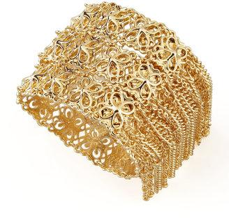 Kendra Scott Ivy Fringe Bracelet, Gold