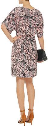 See by Chloe Printed silk dress