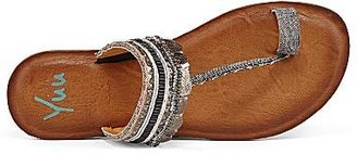 JCPenney Yuu Cadalyn Embellished Thong Sandals