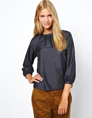 YMC Silk Pocket Top