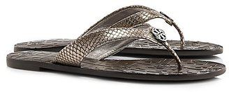 Tory Burch Thora Metallic Sandals